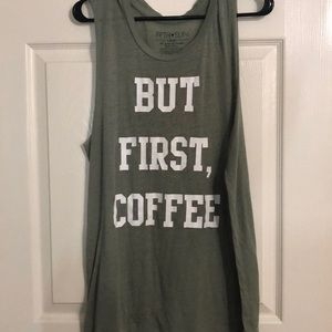 Tops - But First, Coffee Tank